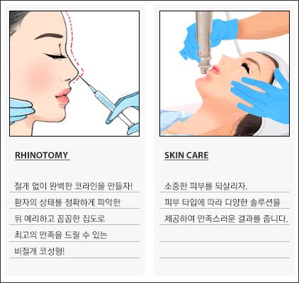 성형 및 피부개선